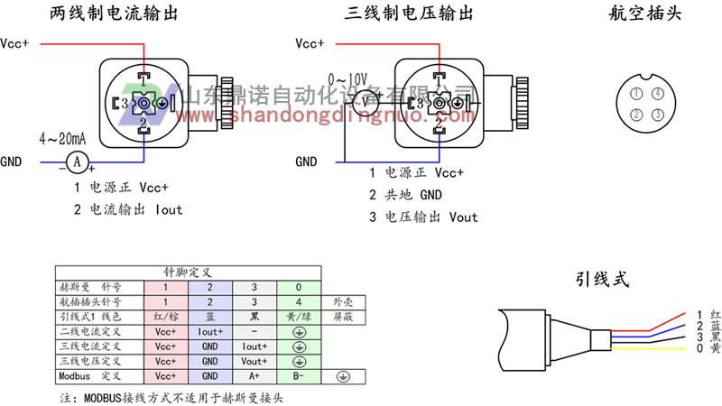 1100小巧型压力变送器,数显气油水压力传感器接线原理