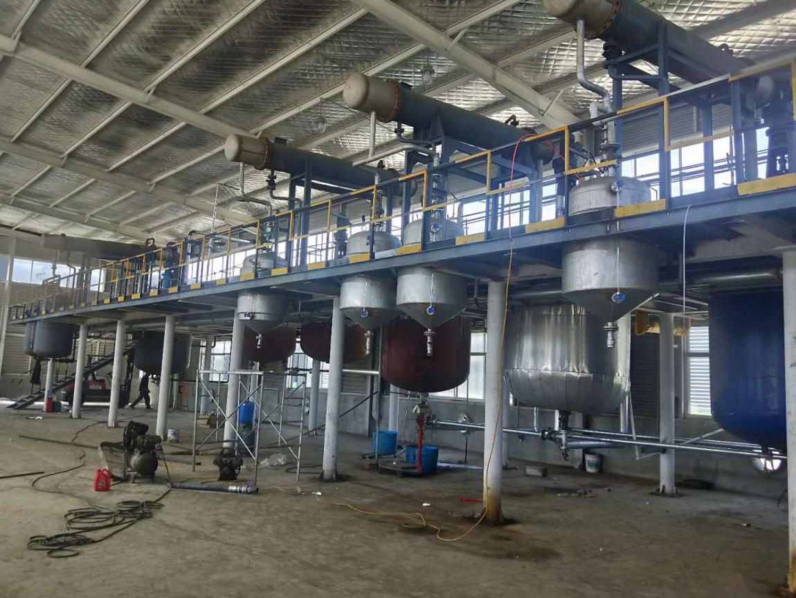 化工厂自动化控制设计改造